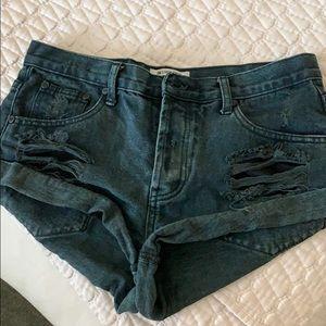 One Teaspoon denim shorts